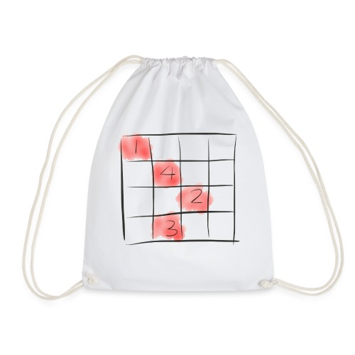 Sudoku puzzle game - Turnbeutel