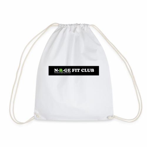 N-R-GE FIT CLUB LOGO - Drawstring Bag