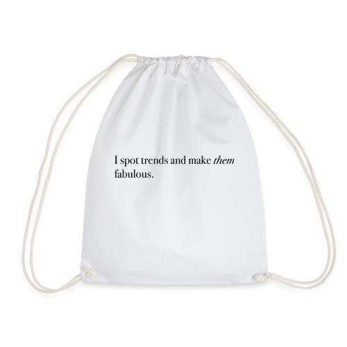 SPOT TRENDS - Drawstring Bag