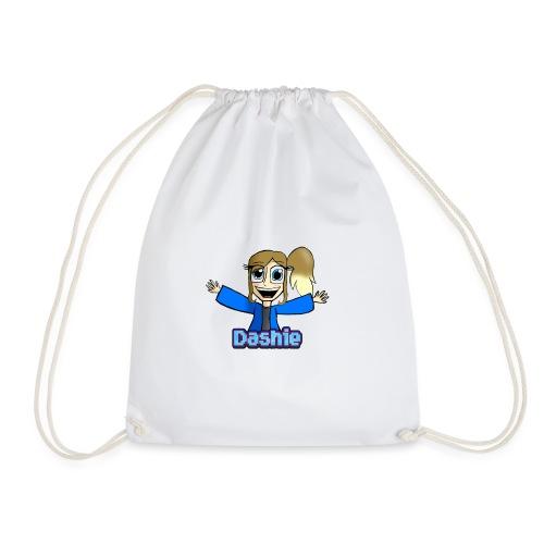 Dashie With Name - Drawstring Bag