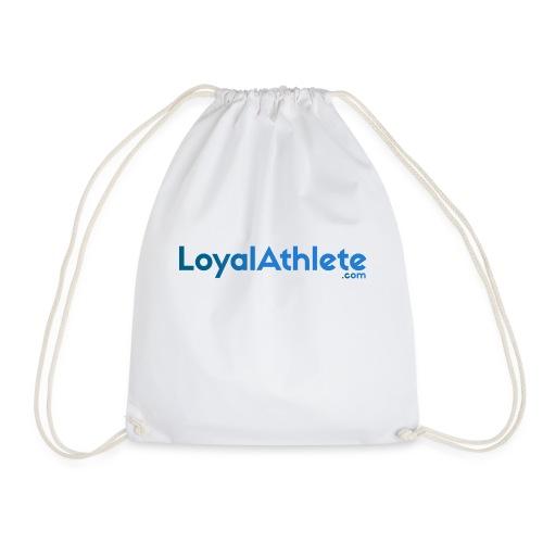 Loyal athlete banner - Drawstring Bag