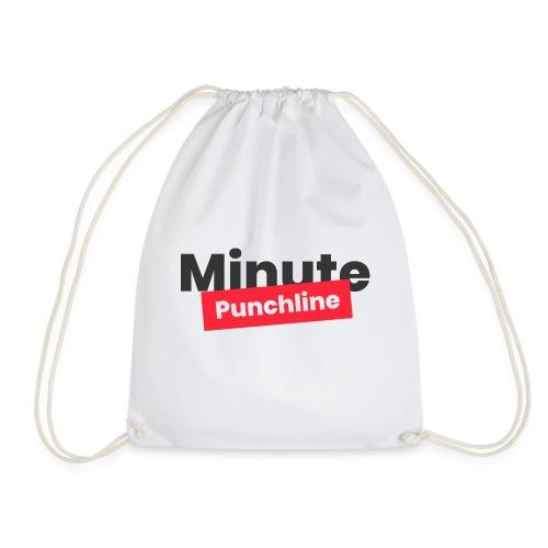 Minute Punchline - Logo Noir - Sac de sport léger