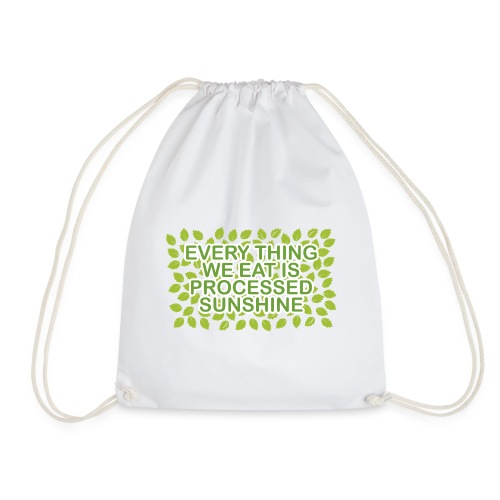 Processed Sunshine 🌿 - Drawstring Bag