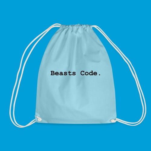 Beasts Code. - Drawstring Bag