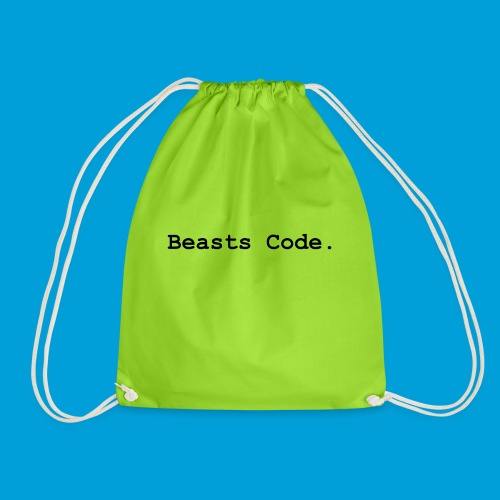 Beasts Code. - Drawstring Bag