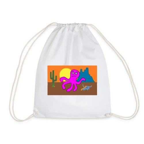 pulpo en el desierto - Mochila saco