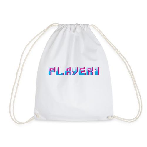 Arcade Game - Player 1 - Drawstring Bag