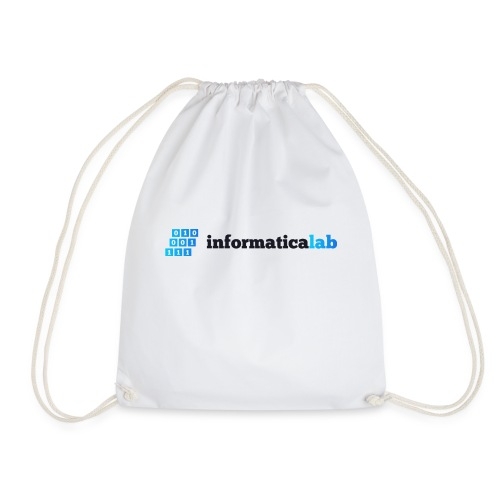 InformaticaLab logo for white background - Sacca sportiva