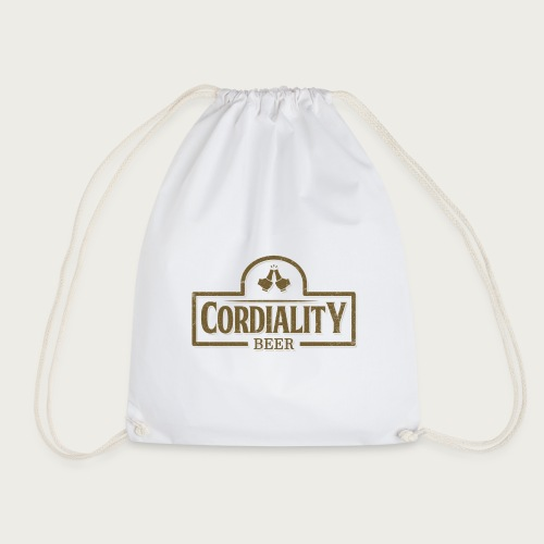 Cordiality Logo 1 - Drawstring Bag