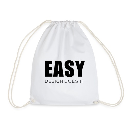 Easy Design Does it - Erfolgshirts - Turnbeutel