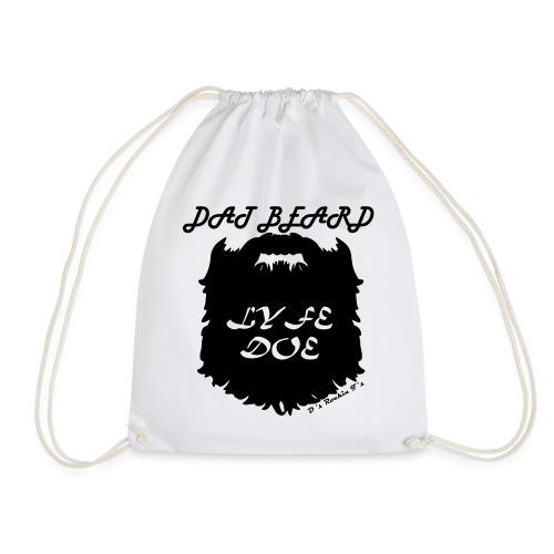 MENS Dat Beard Lyfe Doe long sleeve t-shirt - Drawstring Bag