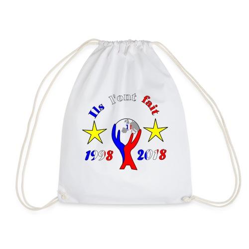 coupe du monde France 2018 football les bleus - Sac de sport léger