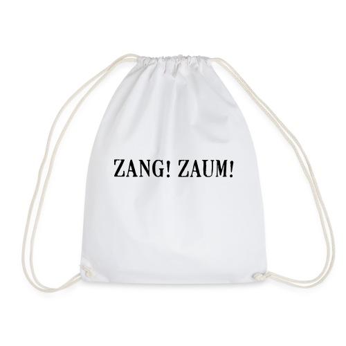 Zang! Zaum - Drawstring Bag