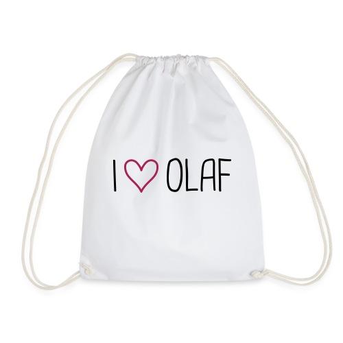 I love Olaf - Turnbeutel