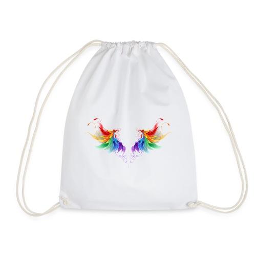 Ailes d'Archanges aux belles couleurs vives - Sac de sport léger