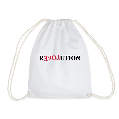 Revolution love - Drawstring Bag