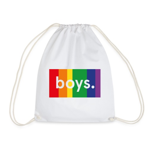 Boys dot flag - Gymnastikpåse