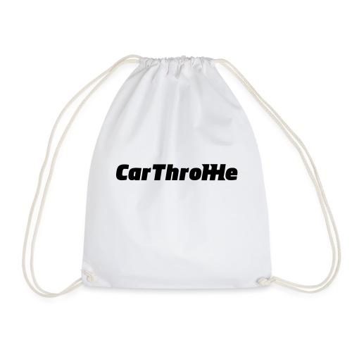 Car Throttle Logo - Drawstring Bag