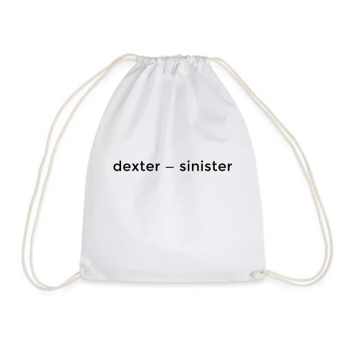 dexter sinister - Gymnastikpåse