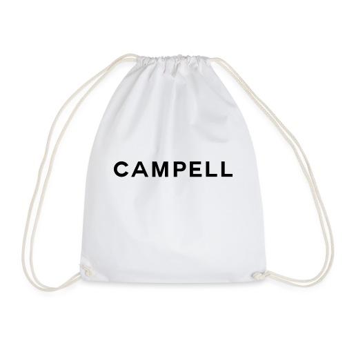 campell schriftzug2 - Turnbeutel