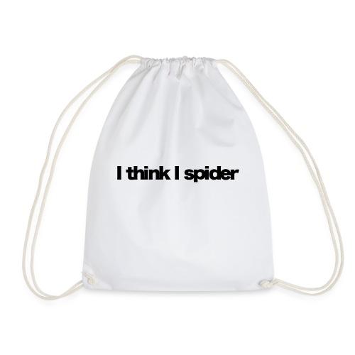 i think i spider black 2020 - Turnbeutel