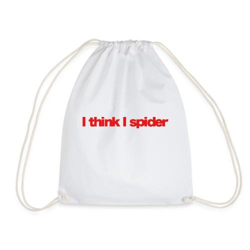 i think i spider red 2020 - Turnbeutel