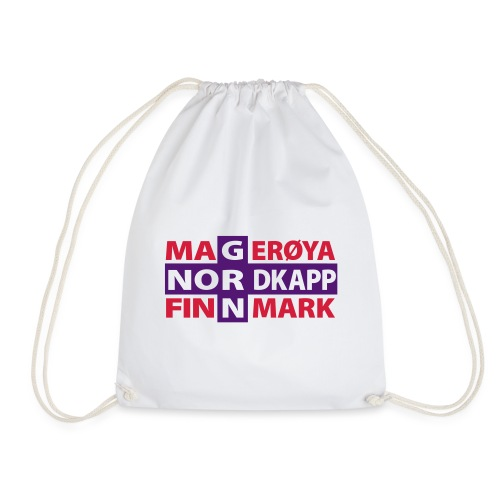 Magerøya North Cape Finnmark - Drawstring Bag