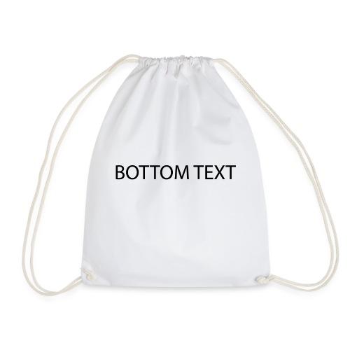 BOTTOM TEXT - Sportstaske