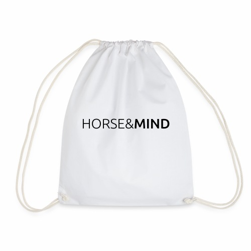 Horse and Mind Logo Typo - Turnbeutel