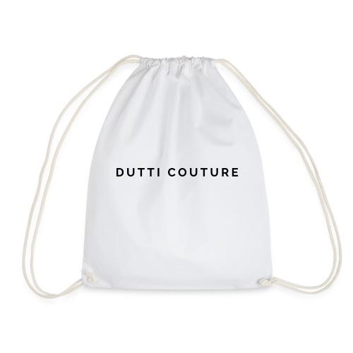 dutti couture schrift - Turnbeutel
