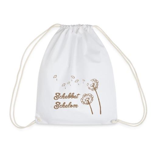 Shabbat Shalom - DEU - Drawstring Bag