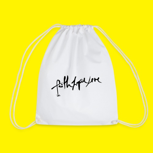 Faith Hope Love - Drawstring Bag