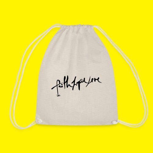Faith Hope Love - Drawstring Bag