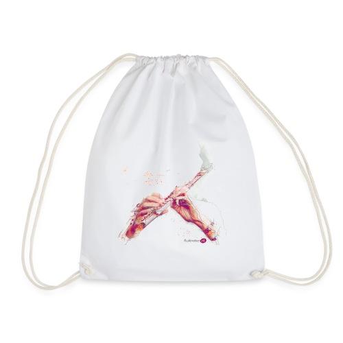 fluitnoten mok - Drawstring Bag