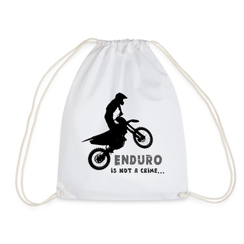 Enduro is not a crime - Mochila saco