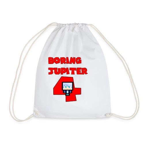 Maglietta premium text BoringJupiter4 - Sacca sportiva