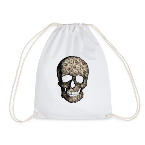 Skull Money Black - Mochila saco
