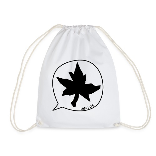 Speech Bubble Last Life - Drawstring Bag