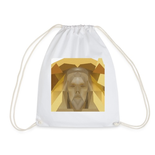 In awe of Jesus - Drawstring Bag