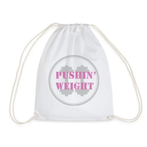 Pushing Weight pink - Gymtas
