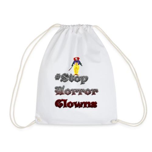 #Stop Horror Clowns - Turnbeutel