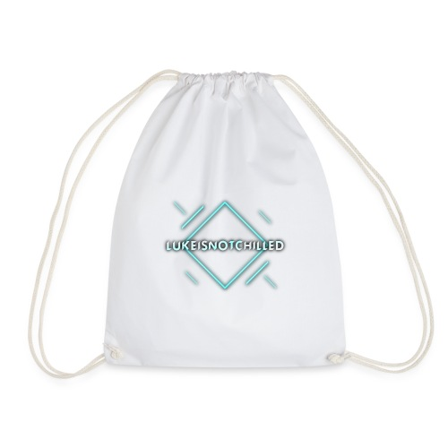 Lukeisnotchilled logo - Drawstring Bag