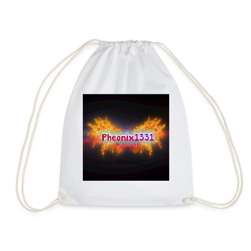 Flaming Pheonix YT - Drawstring Bag