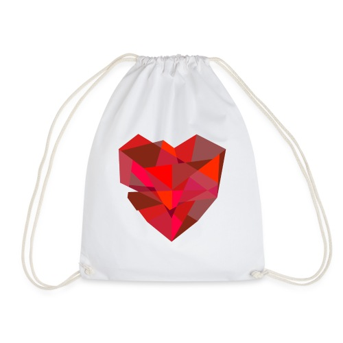 Poly-Heart - Mochila saco