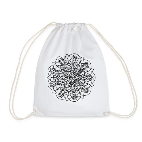 Beetle Mandala - Drawstring Bag