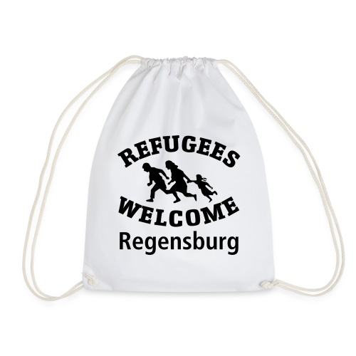Refugees.Welcome.Regensburg - Turnbeutel