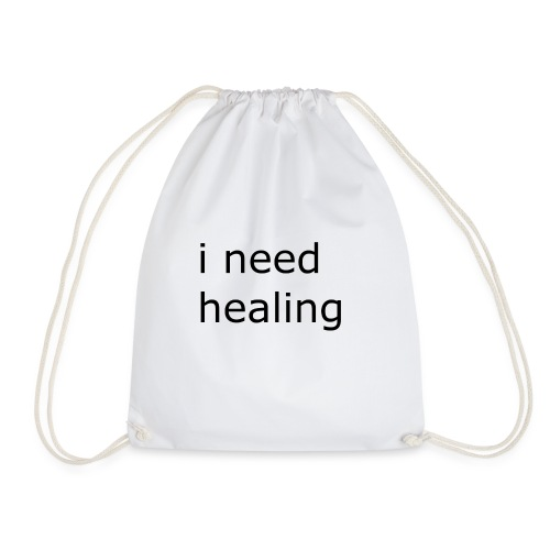 i need healing - Turnbeutel