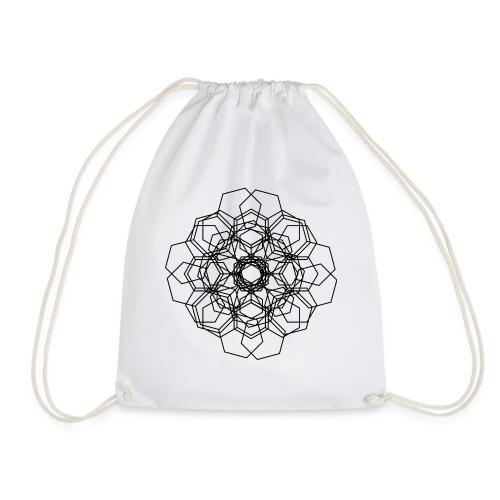 Flower - Drawstring Bag