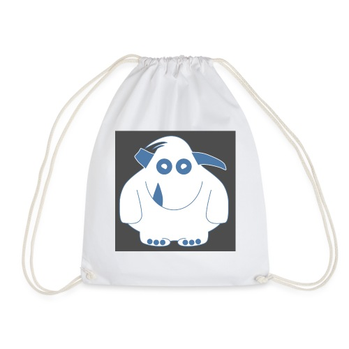 Pinky Monster - Drawstring Bag