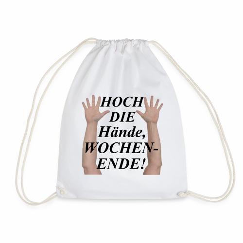 Hoch die Hände, WOCHENENDE! - Turnbeutel